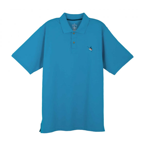 Guy Harvey Men's Pique Polo Shirt, Blue, M Sale $59.99 SKU: 13086905 ID# MH63001-BLU-M UPC# 54683310321 :