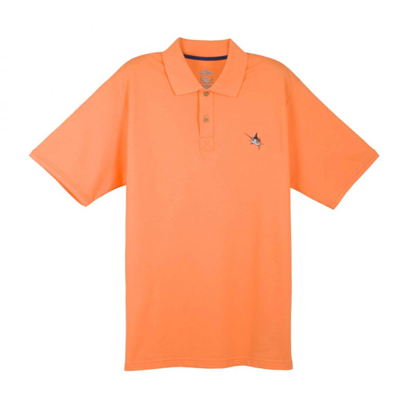 Guy Harvey Men's Pique Polo Shirt, Orange, XL Sale $59.99 SKU: 13086962 ID# MH63001-MEL-XL UPC# 54683310482 :