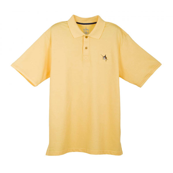 Guy Harvey Men's Pique Polo Shirt, Yellow, XL Sale $59.99 SKU: 13086889 ID# MH63001-YEL-XL UPC# 54683310710 :