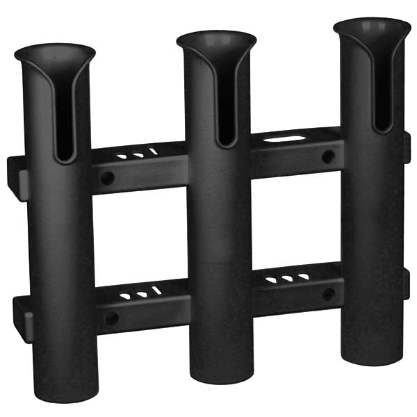 Vertical 3 Rod Rack, Black