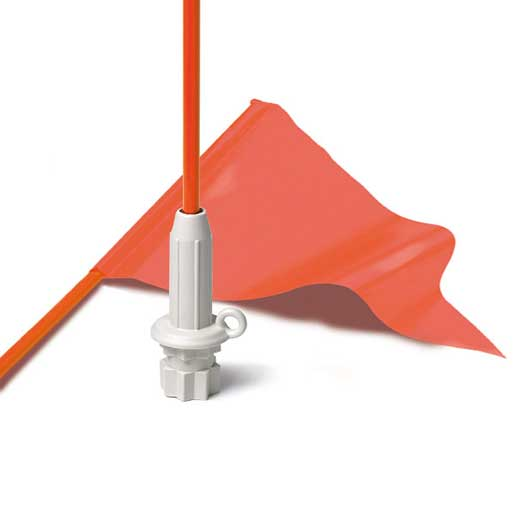 Railblaza Kayak Flag Kit with Pennant, White Base Sale $19.99 SKU: 13098629 ID# 02-4010-21 UPC# 9421026830197 :
