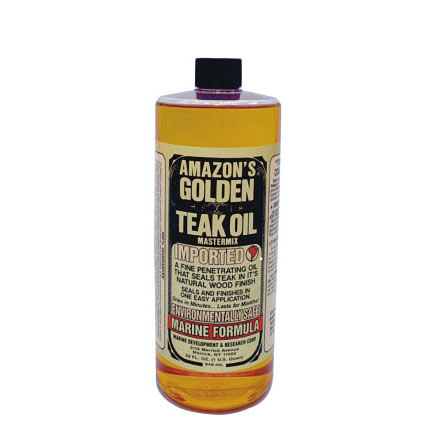 Amazon Golden Teak Oil - Quart Sale $26.99 SKU: 131039 ID# GTO-150 UPC# 31381150329 :