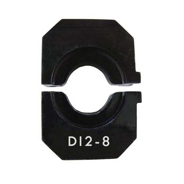 Loos & Company Die for Hydraulic Swaging Tool, DI2-8, 1/4 Die