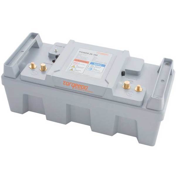 Torqeedo Power 26-104 Electric Outboard Motor Lithium Battery
