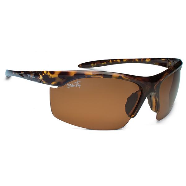 Blacktip Reef Sunglasses, Tortoise Frames with Brown Mirrored Lenses Tortoise/brown