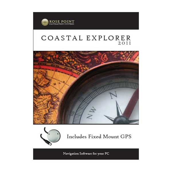 Coastal Explorer with Fixed Mount GPS
