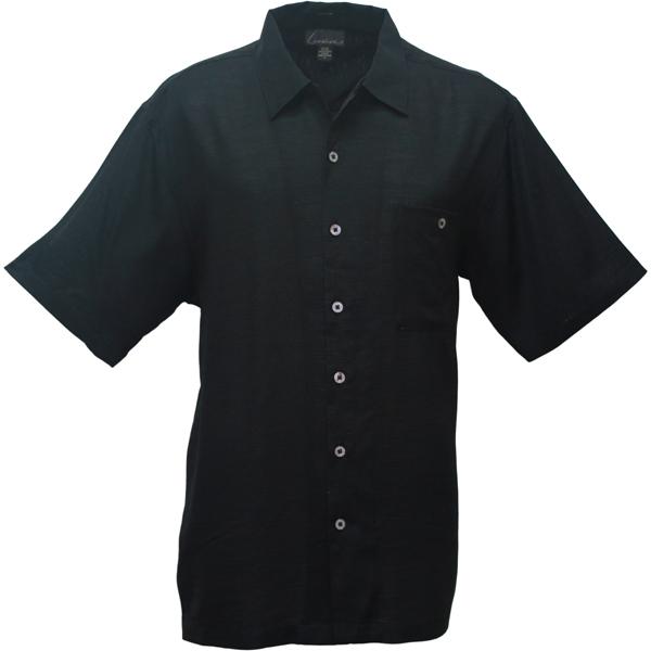 LUAU Men's Riviera Shirt, Black, XL Sale $68.00 SKU: 13179981 ID# M031595 999 XL UPC# 753899129306 :