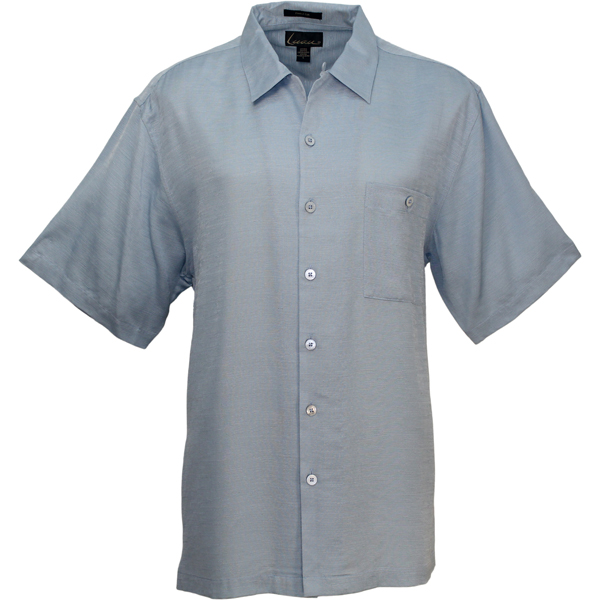 LUAU Men's Riviera Shirt, Blue Mist, M Sale $68.00 SKU: 13180260 ID# M031595 202 M UPC# 753899452886 :