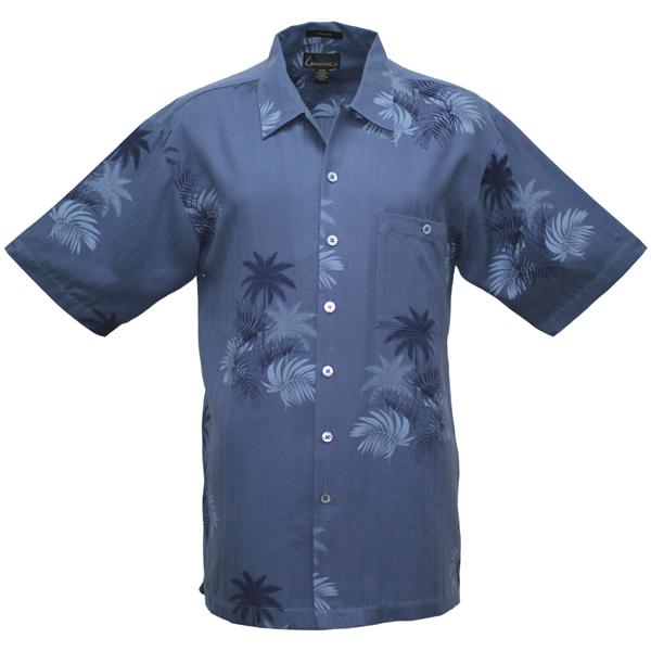 LUAU Men's Mystic Bay Shirt, Bluestone, L Sale $95.00 SKU: 13179718 ID# M031951 201 L UPC# 753899410718 :