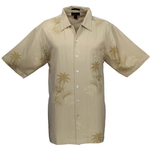 LUAU Men's Mystic Bay Shirt Yellow
