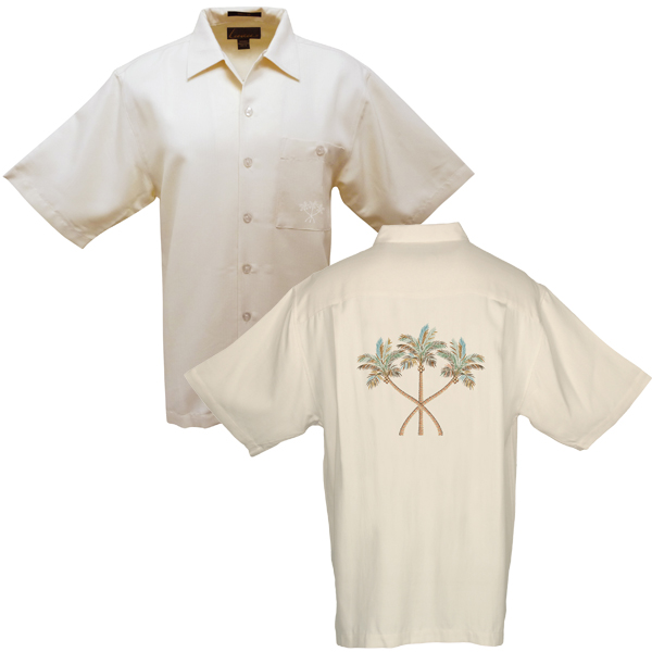 Men's Tree's Company Shirt, Ivory, M