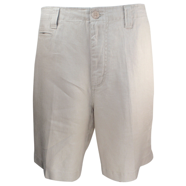 LUAU Men's Santorini Shorts, Tan, 36