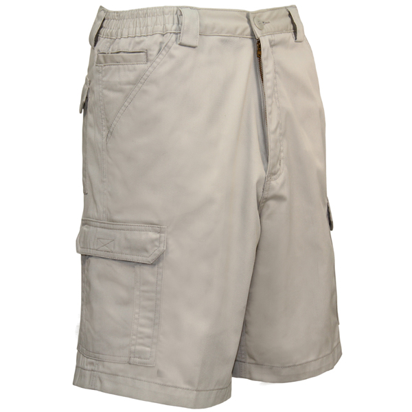 Men's Compass Shorts, Stone, 42