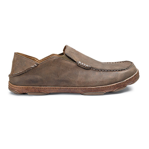 Olukai Men's Moloa Shoes, Brown, 10 Sale $120.00 SKU: 14071799 ID# 10128-2733-26 UPC# 883956021257 :