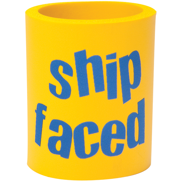 Boatmates Ship-Faced Can Koozie