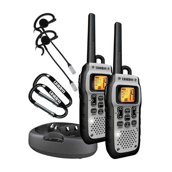 Uniden GMR5089-2CKHS 50 Mile GMRS Radio Two-Pack