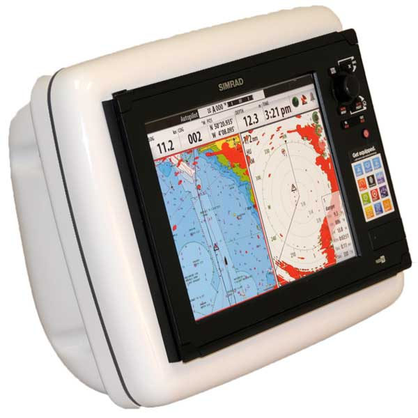 Navpod SailPod Pre-Cut for Simrad NSS 8