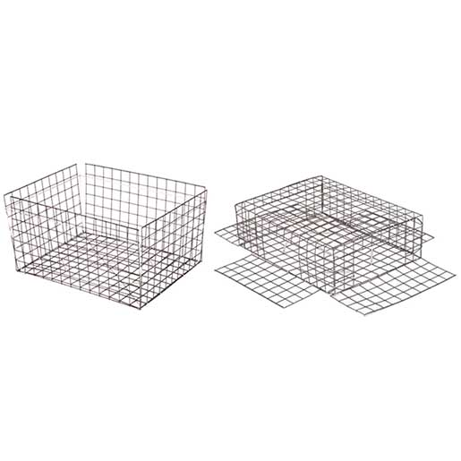 Chesapeake Crabbing Supplies Jumbo Crab Traps, Vinyl Wire without Top Sale $36.99 SKU: 13214218 ID# CT-V-JTL UPC# 696859162770 :
