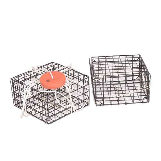 Chesapeake Crabbing Supplies Crab Box Trap, Vinyl Wire, Unrigged Sale $14.99 SKU: 13214200 ID# CT-V-RBX UPC# 696859162794 :