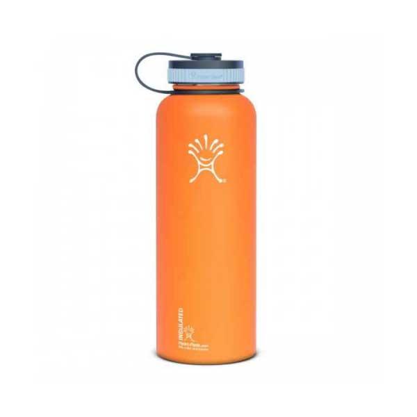 Hydro Flask Wide Mouth 40 oz. Stainless Steel Water Bottle, Orange