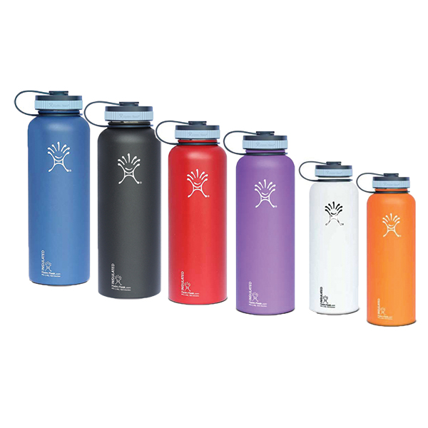Wide Mouth 40 oz. Stainless Steel Water Bottle