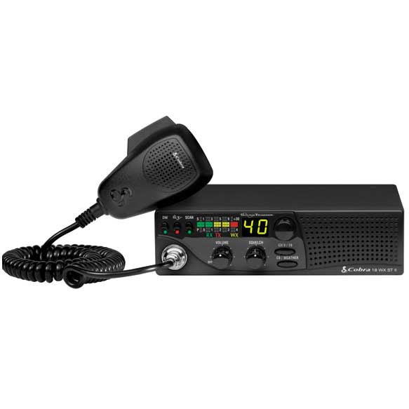 Cobra Electronics 18WX ST II Mobile 40-Channel CB Radio