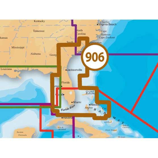 Navionics Platinum+ Charts US Southeast-Bahamas, MSD/906P+