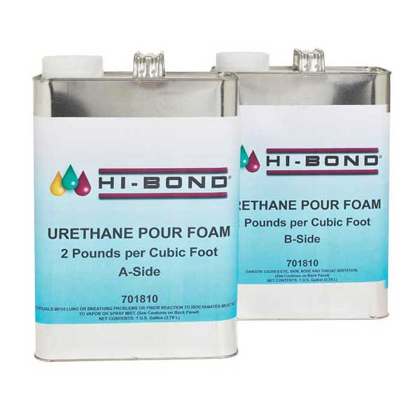 Pour Foam, 2 lb., 2 Gallon Set