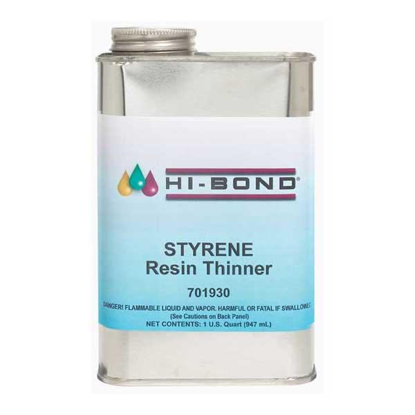 Evercoat Reducer-Resin Styrene, Quart