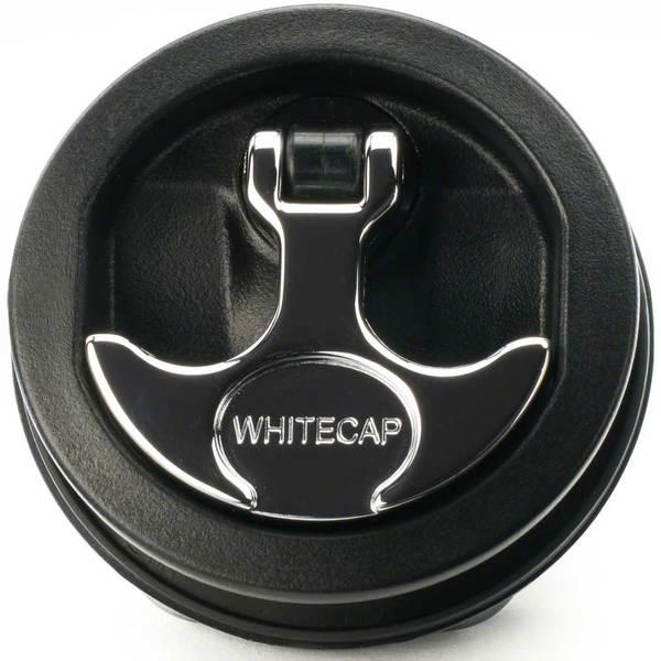 Whitecap T-Handle Surface Mount Latch, Black/Chrome Sale $34.99 SKU: 13437843 ID# S-226BC UPC# 725060022617 :