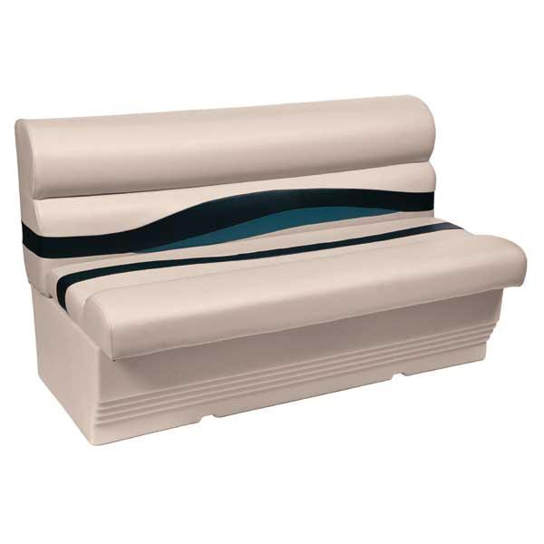 Wise Seating 50Premium Bench Seat, Navy/Cobalt