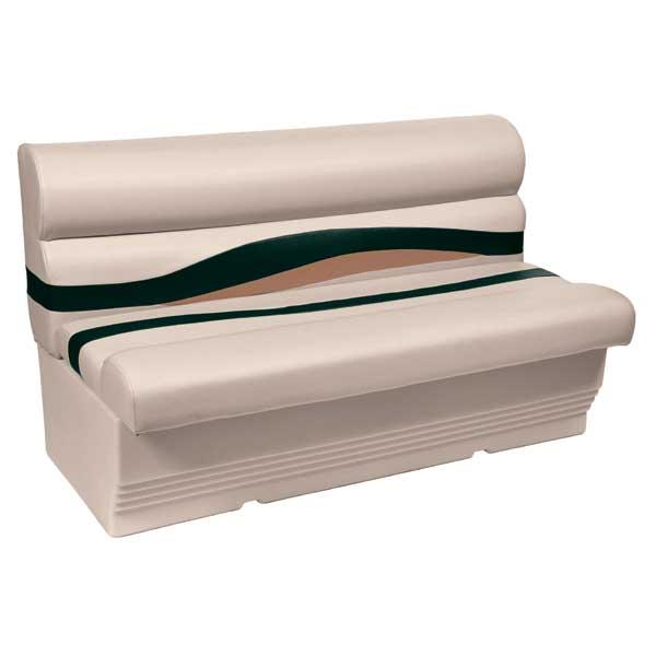 Wise Seating 50Premium Bench Seat, Jade/Fawn