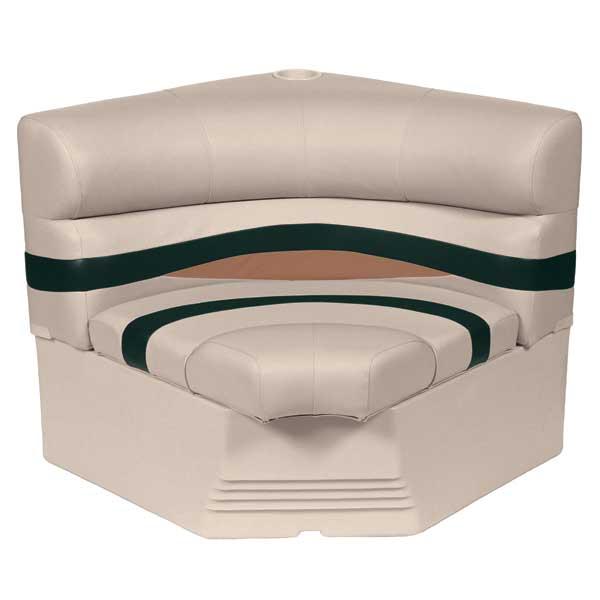 Wise Seating 32 Radius Corner Section Premium Bench Seat, Jade/Fawn Sale $349.99 SKU: 13460498 ID# BM1146-988 UPC# 88472042131 :