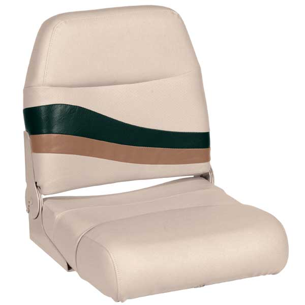 Wise Seating Premium Boat Seat, Jade/Fawn