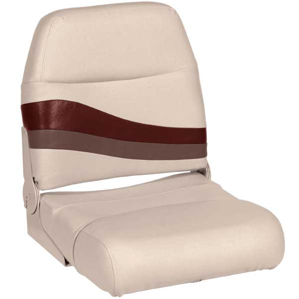 Wise Seating Premium Boat Seat, Wineberry/Manatee