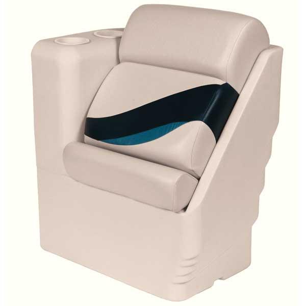 Wise Seating Premium Left Lean Back Recliner, Navy/Cobalt Sale $319.99 SKU: 13460654 ID# 13006L-986 UPC# 88472045156 :