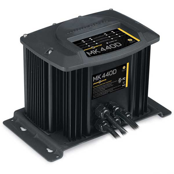 Minn Kota MK440D Battery Charger (4 bank)