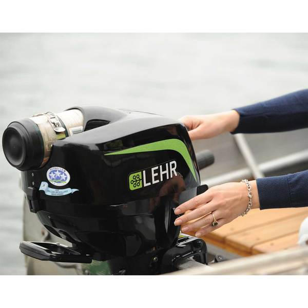 LEHR 2.5hp Propane Powered Outboard Engine, Short Shaft