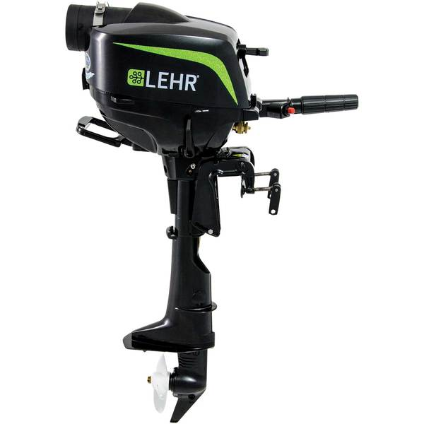 Lehr 2 5hp Propane Powered Outboard Engine Short Shaft