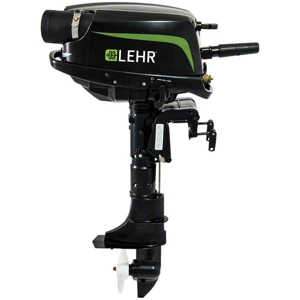 Lehr 5hp Propane Powered Outboard Engine Short Shaft