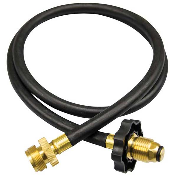 LEHR Propane Connect Hose for Propane-powered Outboard, 4' Sale $32.99 SKU: 13499033 ID# LPH4 UPC# 812524010256 :