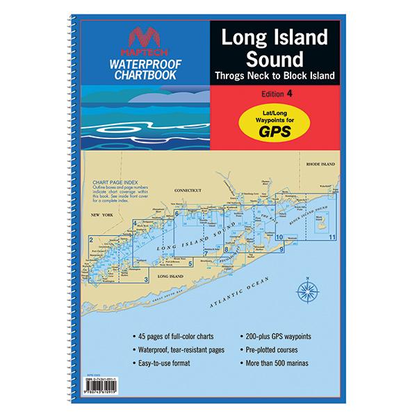 Maptech Long Island Sound 2013 Waterproof Chartbook, 4th Edition Sale $54.95 SKU: 13504378 ID# WPB0325-04 UPC# 9780743610919 :