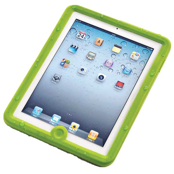 Lifedge iPad2 Waterproof Case, Green