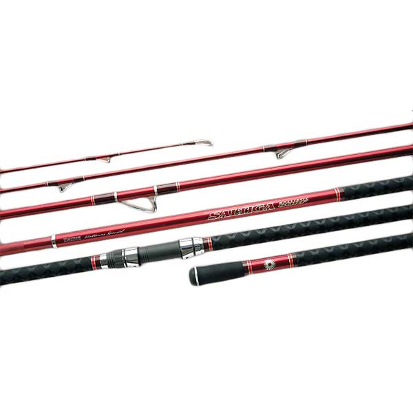 Daiwa Saltiga Ballistic Surf Spinning Rod, Extra Heavy Power, 25-50lb. Line Class, 13'3