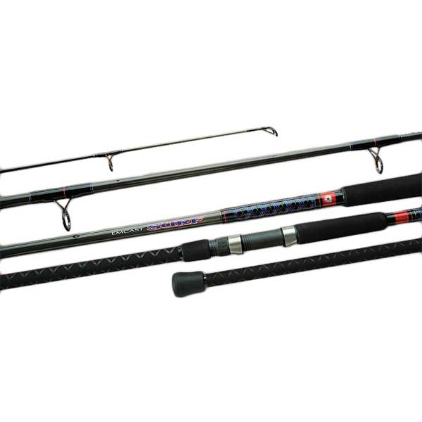 Daiwa Emcast Surf Casting Rod, Extra Extra Heavy Power, 30-60lb. Line Class, 12'