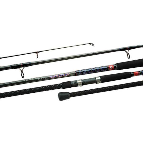 Daiwa Emcast Surf Casting Rod, Extra Extra Heavy Power, 30-60lb. Line Class, 12' Sale $149.99 SKU: 13532700 ID# EC1202XXHFB UPC# 43178204542 :