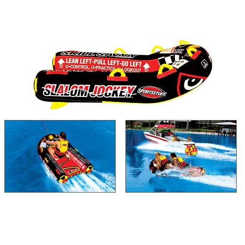 Sports Stuff Slalom Jockey Tube Sale $182.99 SKU: 13565304 ID# 53-1385 UPC# 29808008865 :