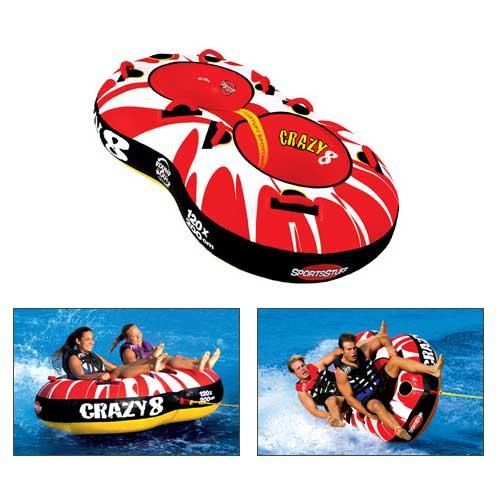 Sports Stuff Crazy 8 Tube Sale $117.99 SKU: 13565320 ID# 53-1450 UPC# 29808002436 :