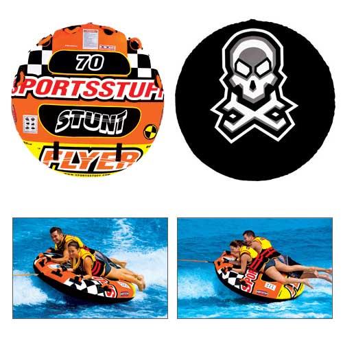Sports Stuff Stunt Flyer Tube Sale $137.99 SKU: 13565379 ID# 53-1651 UPC# 29808010233 :
