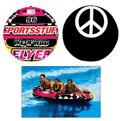 Sports Stuff Wet-N-Wild Flyer Tube Sale $239.99 SKU: 13565395 ID# 53-1671 UPC# 29808010257 :